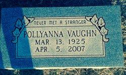 Pollyanna <I>Winton</I> Vaughn