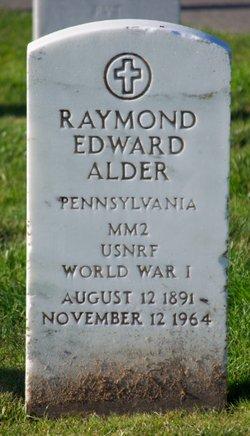 Raymond Edward Alder