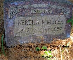Bertha R Meyer