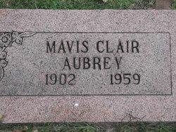 Mavis Clair <I>Carraway</I> Aubrey