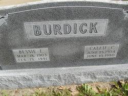 Callie C. Burdick