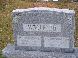 "Jane Loretta ""Aunt Jane"" <I>McGettigan</I> Woolford"