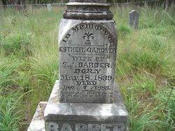 Frances Esther <I>Gardner</I> Barber