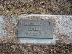 "Isabelle Melinda ""Belle"" <I>Best</I> Ball"
