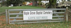 Maple Grove Baptist Cemetery