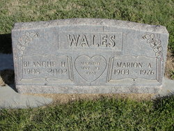 Marion Audrey Wales