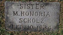 Sr M. Honoria Scholz