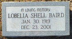 Lobelia <I>Shell</I> Baird