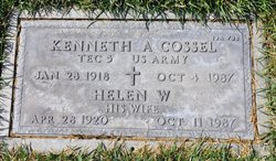 Helen <I>Whitaker</I> Cossel