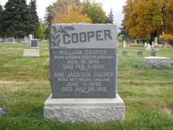 Ann <I>Jackson</I> Cooper