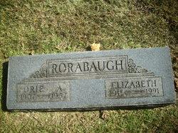 Elizabeth <I>Hartzler</I> Rorabaugh