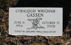 Coraleigh <I>Whigham</I> Gassen