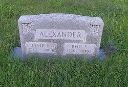 Effie Fay <I>Dickens</I> Alexander