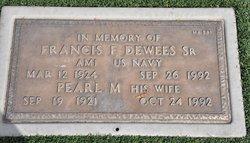 Francis F Dewees, Sr