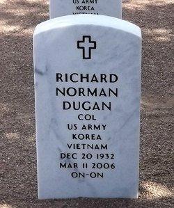 Col Richard Norman Dugan