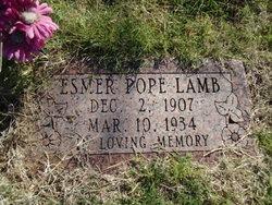 Esmer V <I>Pope</I> Lamb