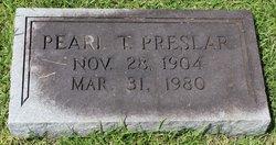 Mary Pearl <I>Taylor</I> Preslar