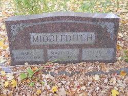 Mary R  . <I>Faltenbury</I> Middleditch