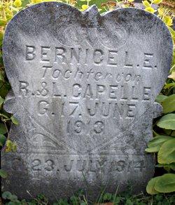 Bernice L E Capelle