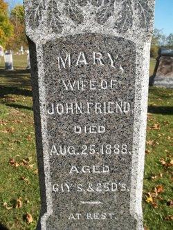 Mary <I>Brubaker</I> Friend