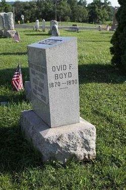 Ovid F Boyd