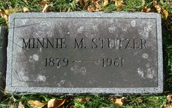 Minnie M. <I>Drumheller</I> Stutzer