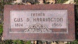 """August D'Estaing """"Gus"""" Harrington"""