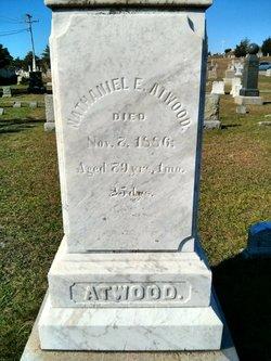 Capt Nathaniel Ellis Atwood