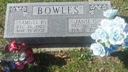 Samuel P Bowles