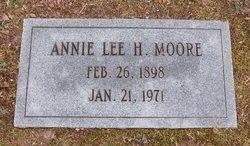 Annie Lee <I>Haggard</I> Moore