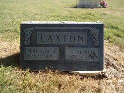 Gertrude Elizabeth <I>Morris</I> Laxton