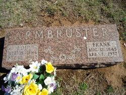 "Franz Anton ""Frank"" Armbruster"