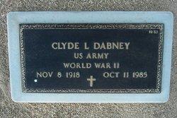 Clyde Leroy Dabney