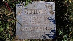 Annie Louise <I>McCambridge</I> Gerhard