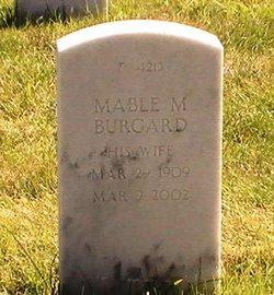 Mable Maisie <I>Denton</I> Burgard