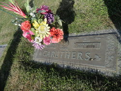 Martha Jane <I>Jones</I> Caruthers