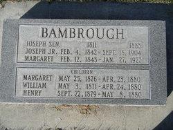 Margret <I>Charlton</I> Bambrough
