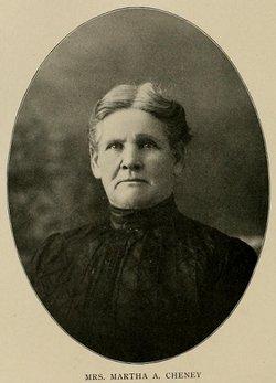 Martha Ann <I>McAllister</I> Cheney