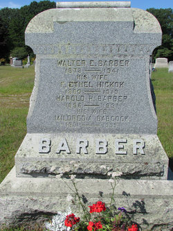 F Ethel <I>Hickok</I> Barber