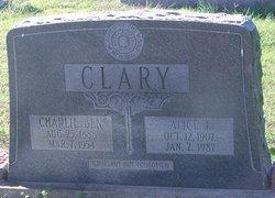 Alice <I>Jones</I> Clary