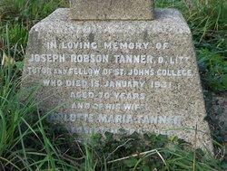Joseph Robson Tanner