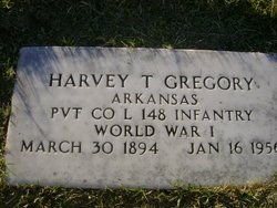 "Harvey Thomas ""Harve"" Gregory"