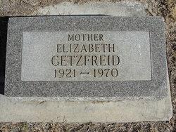 Elizabeth <I>Buechler</I> Getzfreid