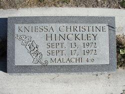 Kniessa Christine Hinckley