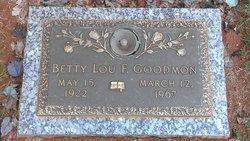 "Elizabeth Louise ""Betty Lou"" <I>Fletcher</I> Goodmon"