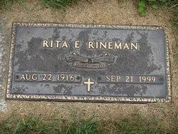 Rita M <I>Gebhart</I> Rinehart
