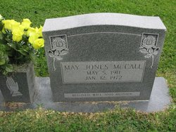 May <I>Jones</I> McCall