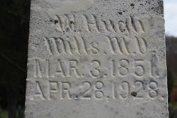 Dr William Hugh Mills