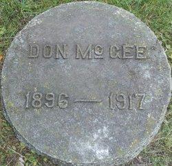 "Donald Raymond ""Don"" McGee"