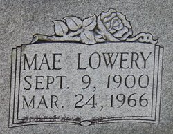 Willa Mae <I>Lowery</I> Jones